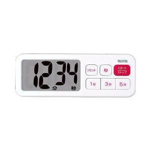 タニタ デジタルタイマー でか見えプラス TD395WH ( 1台 )/ タニタ(TANITA) ( キッチンタイマー )|soukai