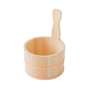 桧 銅タガ 片手桶 ( 1コ入 )|soukai ...
