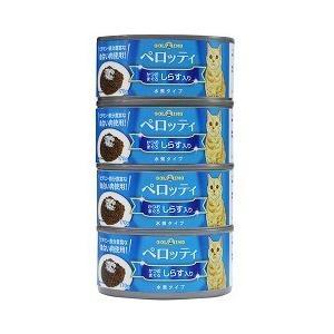 ペロッティ 猫缶 かつお・まぐろ しらす入り ( 170g*4缶 )/ ペロッティ