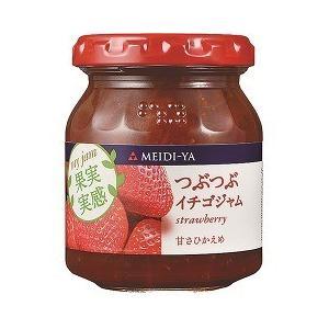 明治屋 MY 果実実感 つぶつぶイチゴジャム ( 160g )/ 果実実感