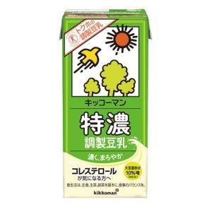 キッコーマン 特濃調製豆乳 ( 1L*6本入 )