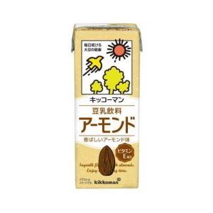 キッコーマン 豆乳飲料 アーモンド ( 200ml*18本入 )
