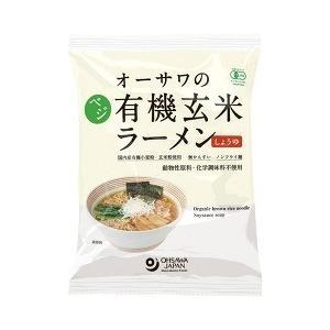 オーサワのベジ有機玄米ラーメン しょうゆ ( 109g )/...
