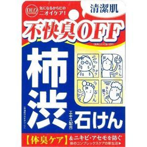 柿渋エキス配合石けん デオタンニングソープ ( 100g )/ デオタンニング ( 柿渋石鹸 石けん ) soukai