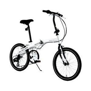 ヴァクセン 20インチ アルミ折りたたみ自転車 6段変速付き...
