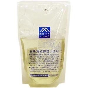M mark 台所用液体せっけん 詰替 ( 280mL )/ M mark(エムマーク) ( 松山油脂 キッチン用洗剤 )