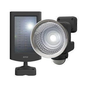 ムサシ 1.3W*1灯 フリーアーム式 LED ソーラーセン...
