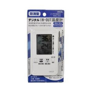 防滴型 デジタルIN-OUT温度計 ( 1コ入 )|soukai