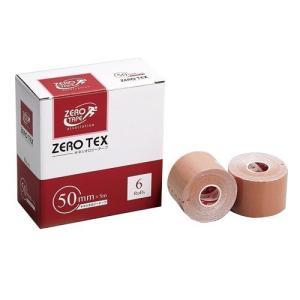 ゼロ・テックス キネシオロジーテープ 50mm*5m ( 6巻 )/ ゼロテープ(ZERO TAPE)
