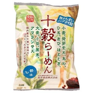 十穀らーめん しお味 ( 87g ) ( ハトムギ粉 はとむぎ粉 インスタントラーメン )