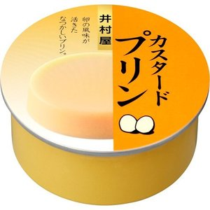 井村屋 缶カスタードプリン ( 75g )