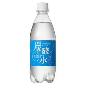 国産 天然水仕込みの炭酸水 ナチュラル ( 500mL*24本入 ) ( 炭酸水 500ml 24本  国産 強炭酸水 )|soukai