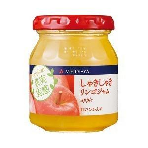 明治屋 MY 果実実感 しゃきしゃきりんごジャム ( 160g )/ 果実実感