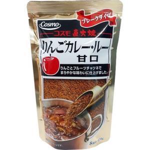 コスモ 直火焼りんごカレールー 甘口 ( 170g )|soukai