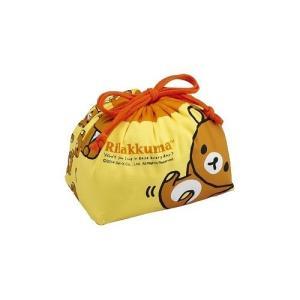 日本製 リラックマ 巾着 弁当袋 KB-1 ( 1枚入 ) ( ベビー用品 )