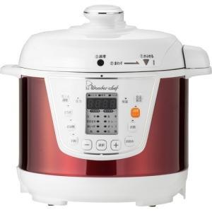 ワンダーシェフ マイコン 電気圧両鍋 3L 楽ポン OEDC30 R1/キッチン家電・調理家電/ブラ...