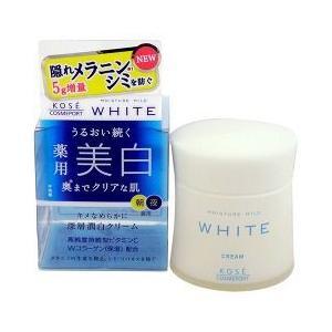 「KOSE コーセー モイスチュアマイルド ホワイト クリーム 55g」の画像検索結果