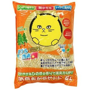 猫砂 消臭おからサンド ( 5L )