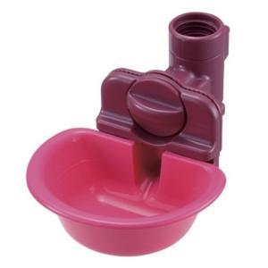 リッチェル ペット用 ウォーターディッシュ ピンク Sサイズ ( 1コ入 ) ( ペット 水飲み )