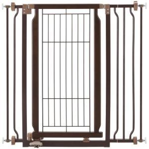 リッチェル ペット用 木製ハンズフリーゲート ( 1台 ) ( ペットゲート ペット用 犬用 間仕切り ついたて )