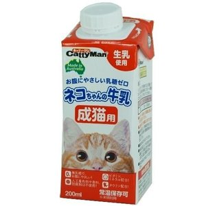 キャティーマン ネコちゃんの牛乳 成猫用 ( 200mL )/ キャティーマン ( ミルク 猫 )