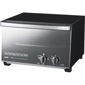 ツインバード ミラーガラスオーブントースター ブラック TS...