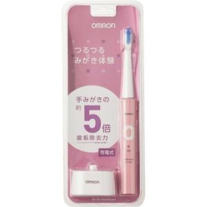 (おまけ付き)オムロン 音波式電動歯ブラシ メディクリーン HT-B305-PK ( 1台 )/ メディクリーン