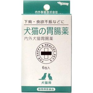 【動物医薬品】犬猫の胃腸薬 ( 6袋入 )...
