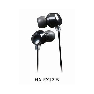 JVC ステレオカナルヘッドホン HA-FX12-B ( 1コ入 )/ JVC|soukai