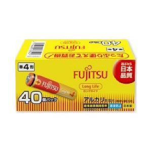 富士通 アルカリ乾電池 単4 40本パック ロングライフ ( 1セット )|soukai