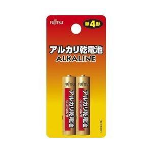 富士通アルカリ乾電池 単4 2本パック ( 1セット )|soukai