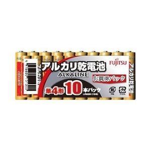 富士通アルカリ乾電池 単4 10本パック ( 1セット )|soukai