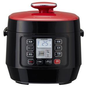 コイズミ マイコン電気圧力鍋 レッド KSC-3501/R/キッチン家電・調理家電/ブランド:コイズ...