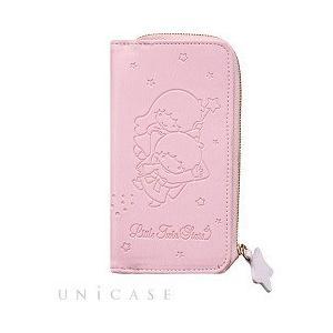 iPhone6s/6 リトルツインスターズ アイコイン ダイアリーカバー ライトピンク ( 1コ入 ...