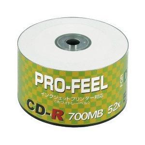 PRO-FEEL データ用CD-R 700MB PF CDR80 PW50SH ( 50枚入 )|soukai