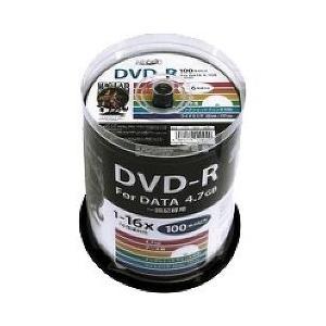 ハイディスク データ用 DVD-R 16倍速 ワイドプリンタブル HDDR47JNP100 ( 100枚入 )/ ハイディスク(HI DISC)|soukai