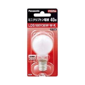 パナソニック ミニクリプトン電球40W形 ホワ...の関連商品6