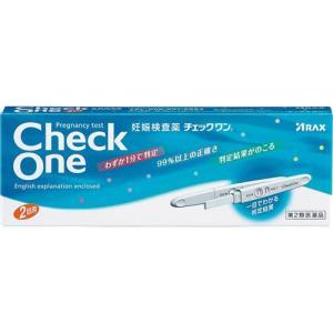 (第2類医薬品)チェックワン ( 2回用 )/ チェックワン
