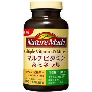 ネイチャーメイド マルチビタミン&ミネラル ( 200粒入 )/ ネイチャーメイド(Nature M...