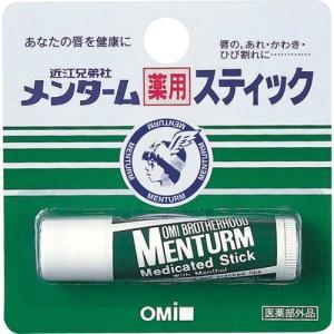 メンターム 薬用スティック レギュラー ( 4g )/ メンターム
