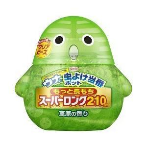 ウナコーワ 虫よけ当番 ポット スーパーロング 210日間 草原の香り ( 347g )/ 虫よけ当番