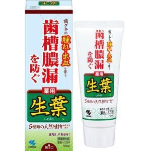 小林製薬 薬用歯みがき 生葉 ( 100g )/ 生葉 ( 歯磨き粉 口臭予防 )