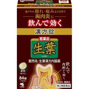 (第2類医薬品)生葉漢方錠 ( 84錠 )/ 生葉