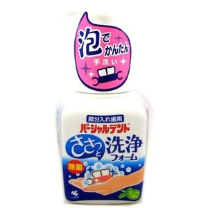 小林製薬 パーシャルデント 洗浄フォーム ミントの香り ( 250mL )/ パーシャルデント ( 入れ歯洗浄剤 )