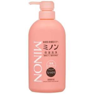 ミノン 全身シャンプー しっとりタイプ ( 450mL )/ MINON(ミノン) ( シャンプー )