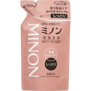 ミノン 全身シャンプー しっとりタイプ つめかえ用 ( 380mL )/ MINON(ミノン) ( ミノン 全身シャンプー 詰め替え )