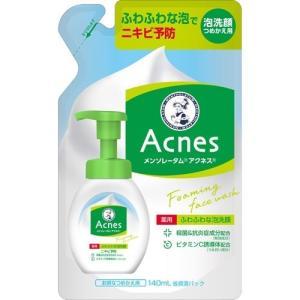 メンソレータム アクネス 薬用ふわふわな泡洗顔 つめかえ用 ( 140mL )/ メンソレータム...