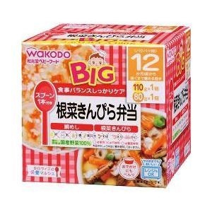 ビッグサイズの栄養マルシェ 根菜きんぴら弁当 ( 110g+80g )/ 栄養マルシェ ( ベビー用品 )