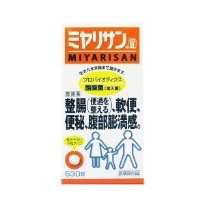 ミヤリサン錠 ( 630錠入 )/ ミヤリサン ( 整腸 便通を整える 便秘 軟便 腹部膨満 乳酸菌 酪酸菌 )