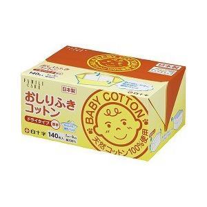 白十字 おしりふきコットン ( 140枚入(7*9cm) )...
